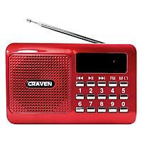 Loa Nghe Nhạc Usb Thẻ Nhớ Craven Cr-16 - Hàng Chính Hãng