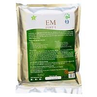 Chế phẩm gốc EM Fert-1 Chuyên gia ủ phân hữu cơ vi sinh - TRICHODEMA ức chế các loại nấm bệnh gây hại cho bộ rễ cây trồng.