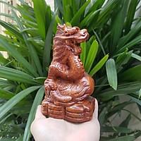 Tượng con rồng gỗ hương Tượng con rồng làm bằng gỗ hương Tượng con giáp phong thủy 12 con giáp