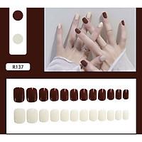 Bộ 24 móng tay giả nail thơi trang như hình (R-137)