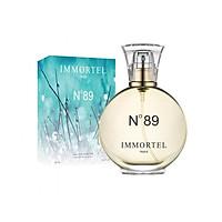 Nước hoa IMMORTEL PARIS No89 Dung Tích  60ML Eau De Parfum - Với mùi hương đầy lôi cuốn tạo nên một vẻ đẹp phương Đông mềm mại.