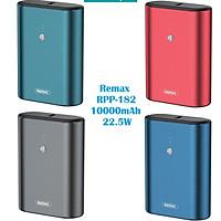 Pin sạc dự phòng mini Remax RPP-182 10000mAh sạc nhanh QC3.0 max 22.5W, Type-C PD 18W (HÀNG CHÍNH HÃNG)