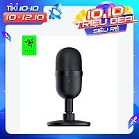 Razer Seiren Mini USB Condenser Microphone USB Powered Smart Noise Reduction Built-in Shock Mount for Live