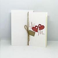 Thiệp valentine imFRIDAY LOV2