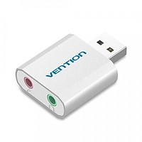 Bộ Chuyển Đổi USB Sang 2 Cổng Âm Thanh Cho Mic Và Tai Nghe Vention (3.5mm)