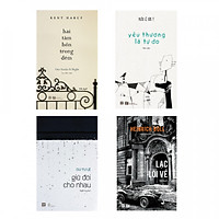 Combo sách tình yêu cho người trưởng thành: Hai tâm hồn trong đêm + Yêu thương là tự do + Giữ đời cho nhau + Lạc lối về