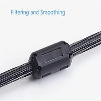 9mm Clip-on Ferrite Ring Core RFI EMI Noise Suppressor Filter Cable Clip