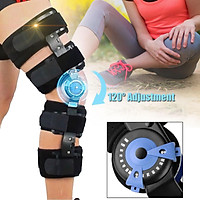 AU Medical Grade 120° Adjustable Hinged Knee Leg Brace Support & Protect Knee