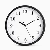 Đồng hồ tròn thạch anh kim loại 10 inches kim trôi mịn  Minigood - DMCTB129