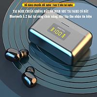 Tai nghe true wireless không dây chất lượng cao DG02 pro, bluetooth 5.2, sạc nhanh type C