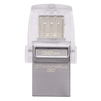 "Thẻ Nhớ USB 3.1 Type-C OTG Cho MacBook 12"" Kingston DataTraveler microDuo 3C (64GB)"