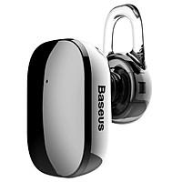 Tai nghe Bluetooth Baseus Encok Mini Wireless Earphone kết nối cùng lúc 2 thiết bị (5h đàm thoại, Bluetooth 4.1, Cảm ứng chạm) - Hàng chính hãng