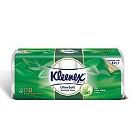 Combo 2 Giấy cuộn Kleenex lô hội 190 tờ x 10 cuộn x 3 lớp