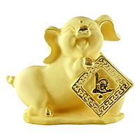 Kim hợi phát lộc phủ vàng 24K quà tặng mỹ nghệ KBP DOJI DJWRSX001-12.12