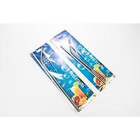 Set 2 bộ ống hút inox 304 an toàn cho sức khỏe con người và thân thiện với môi trường OH11