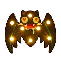 Portable LEDs Decorative Light for Halloween Colorful Spider/Bat/Skull/Pumpkins Lights Batterys Powered Warm Light Table