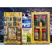 Bộ Sưu Tập Linh Vật Từ Đất Thánh JERUSALEM - Quà Tặng Thiên Chúa Giáo Giáng Sinh , Noel ý nghĩa.