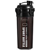 Bình nhựa đựng nước LOCK&LOCK Sports Water Bottle HPL934NBK 690ml - Màu đen