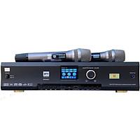 Amplifier Karaoke 3 in 1 Digital Cao Cấp BFAudioPro BMS 600 có Bluetooth 5.0, tích hợp 2 Micro không dây cao cấp Karaoke gia đình