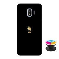 Ốp lưng nhựa dẻo dành cho Samsung J2 Pro in hình leo - Tặng Popsocket in logo iCase - Hàng Chính Hãng