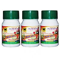 Bộ 3 lọ thuốc kích thích ra rễ cực mạnh Axit amin + Vitamin B1 Đầu Trâu MK Amica (3 lọ x 100ml)