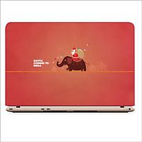 Miếng Skin Dán Decal Laptop Giáng Sinh 2019 - Mã: DCLTGS 036