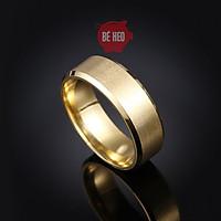 Nhẫn titan nam nữ - nhẫn nam bền màu - Trang sức Bé Heo BHN119