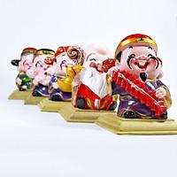 (TẶNG BỘ ĐẾ TƯỢNG) Bộ tượng 5 ông Thần Tài, Phúc, Lộc, Thọ