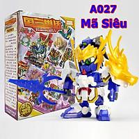 Xếp Hình, Lắp Ghép Gundam Mãnh Tướng Mã Siêu A027 - Lego Tam Quốc