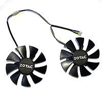 2pcs/lot DIY GA92S2U 85MM 4PIN R&X 2060 GPU Fan For R&X2060-6GD6 Destroyer  SM HA Graphics card Cooling Fans