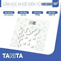 Cân sức khoẻ điện tử Tanita HD380 Nhật Bản, Cân tanita, chính hãng nhật bản,cân điện tử,cân chính hãng,cân nhật bản,cân sức khoẻ y tế,cân sức khoẻ gia đình,cân sức khoẻ cao cấp,cân 120kg,cân 130kg,cân 150kg,Cân sức khoẻ mini