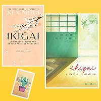 Combo Ikigai - Bí Mật Sống Trường Thọ Và Hạnh Phúc Của Người Nhật và  Ikigai - Đi Tìm Lý Do Thức Dậy Mỗi Sáng ( Tặng Kèm Sổ Tay Xương Rồng)
