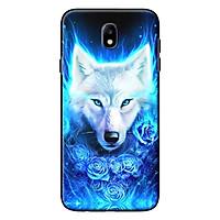 Ốp Lưng Dành Cho Điện Thoại Samsung Galaxy J3 Pro/ Galaxy J7 Pro Sói Trắng