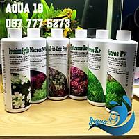 Chế phẩm sinh học phân nước Thủy Sinh AZ 500ml All In One Pro, Premium Fertilizer, MacrosK+, MacrosP+, ExtremeFE+, NPK+