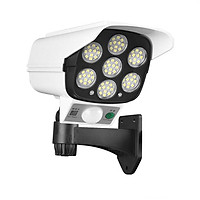 Đèn Led cảm ứng mô hình camera chống trộm dùng pin năng lượng mặt trời