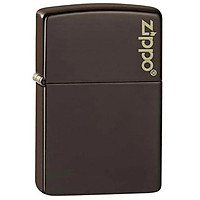 Bật Lửa Zippo 49180ZL – Zippo Brown Zippo Logo
