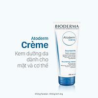 Kem dưỡng ẩm, phục hồi dành cho da khô nhạy cảm BIODERMA Atoderm Crème 200ml (Cho da khô đến da rất khô)