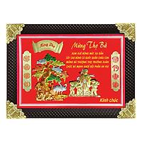 Tranh Đồng Mừng Thọ Bà (60 x 80cm)