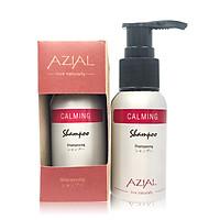 Dầu gội thảo mộc tinh dầu thiên nhiên AZIAL Calming Shampoo, ngăn rụng tóc, phục hồi tóc hư tổn, kích thích mọc tóc