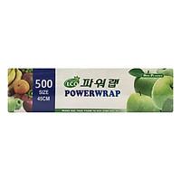 Màng Bọc Thực Phẩm Power Wrap PVC Tự Hủy Sinh Học 9 Mic x 450 mm x 500 m
