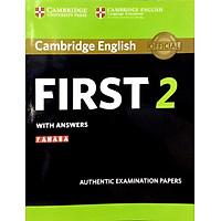 Cam English First 2 SB w Ans (FCC)