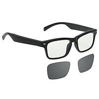 Smart Audio Glasses Wirelessly BT Music Glasses Music & Hands-Free Calling Blue Light Blocking / Polarized Eyeglasses