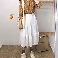 Chân váy nữ đẹp 3 tầng dáng dài trẻ trung năng động
