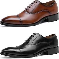 Giày da công sở giày tây big size cỡ lớn cho nam cao to - GT049