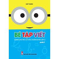 Combo 06 Quyển Hành Trang Cho Bé Chuẩn Bị Vào Lớp 1 (Tập Tô, Viết, Học Toán)