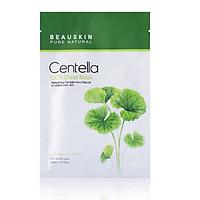 Mặt nạ dưỡng da ngừa mụn hỗ trợ trị nám nhanh lành sẹo ngăn lão hóa thêm hồng hào Beauskin Centella CICA Sheet Mask, HQ 5x30ml