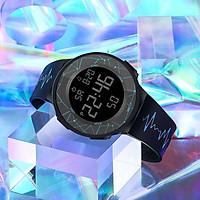 Đồng hồ điện tử thời trang nam nữ m42 dây silicon chống nước tốt