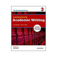 Effective Academic Writing 3 Student Book with Access to Oxford Learn 2Ed