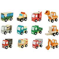 Đồ Chơi Gỗ - Mô hình xe gỗ mini, cho bé học hỏi thêm nhiều kiến thức
