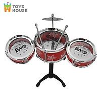 Đồ chơi hướng nghiệp - Bộ trống Jazz Drum cho bé Toyshouse - Nhạc cụ, âm nhạc cho bé yêu